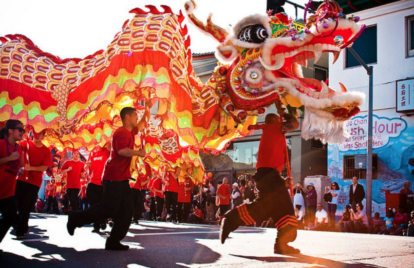 Things To Do in LA in February; Golden Dragon Parade Los Angeles